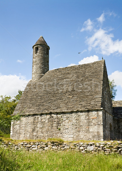 Igreja símbolo Irlanda cozinha herança Foto stock © Eireann