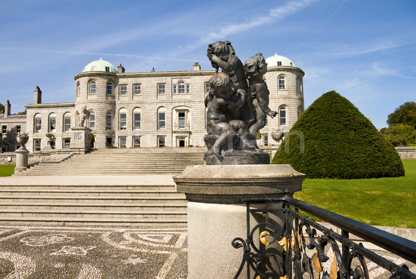 Powerscourt Mansion in Ireland Stock photo © Eireann