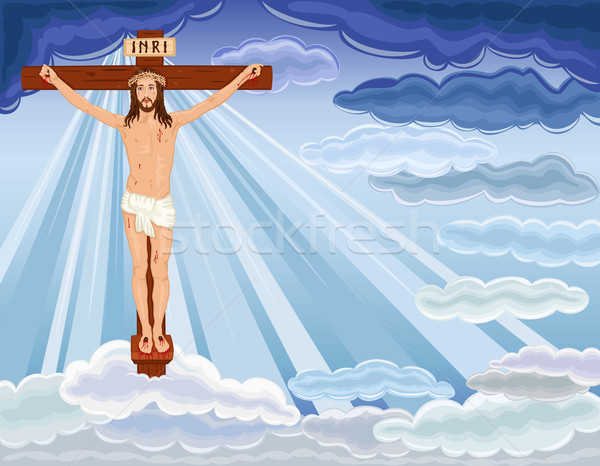 Resurrection of Jesus Christ Stock photo © Eireann