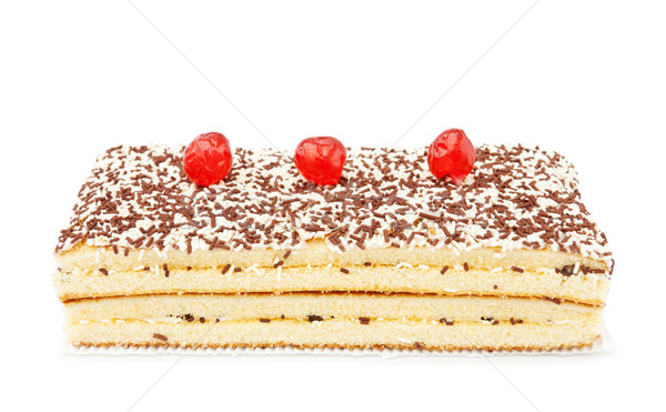 Zdjęcia stock: Czekolady · Kokosowe · ciasto · wiśni