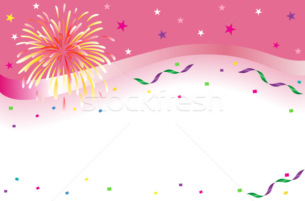 Celebration and party banner Stock photo © Eireann