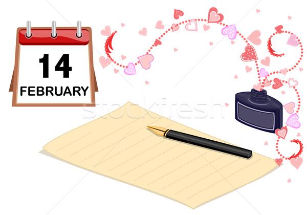 Valentine I love you card Stock photo © Eireann