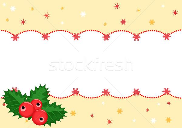 クリスマス バナー eps 要素 ストックフォト © Eireann