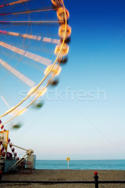 Ferris wheel at the beach Stock photo © Eireann