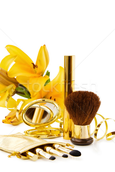 高級 化粧 セット 白 ストックフォト © Eireann