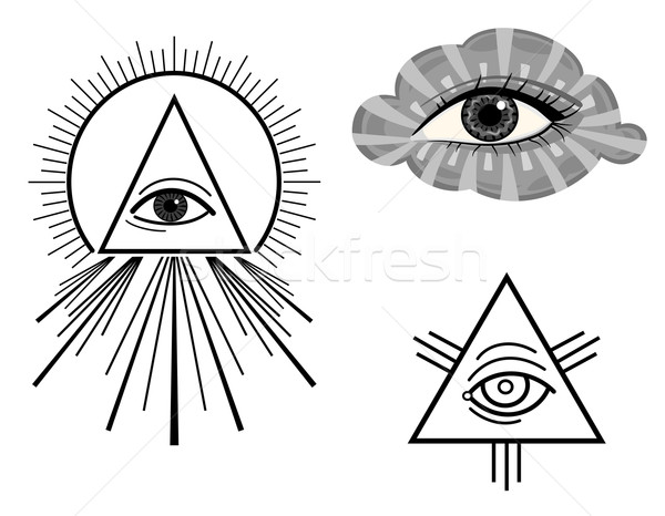 The All Seeing Eye Stock photo © Eireann