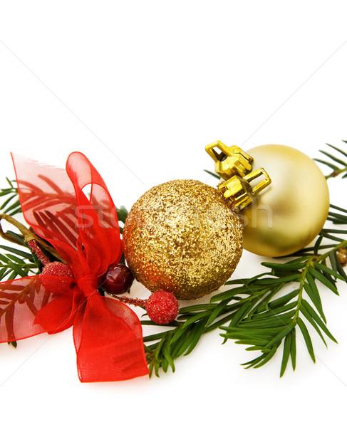 Сток-фото: Рождества · радости · Vintage