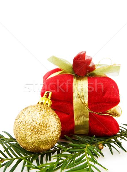 クリスマス 安物の宝石 贈り物 祝う 孤立した ストックフォト © Eireann