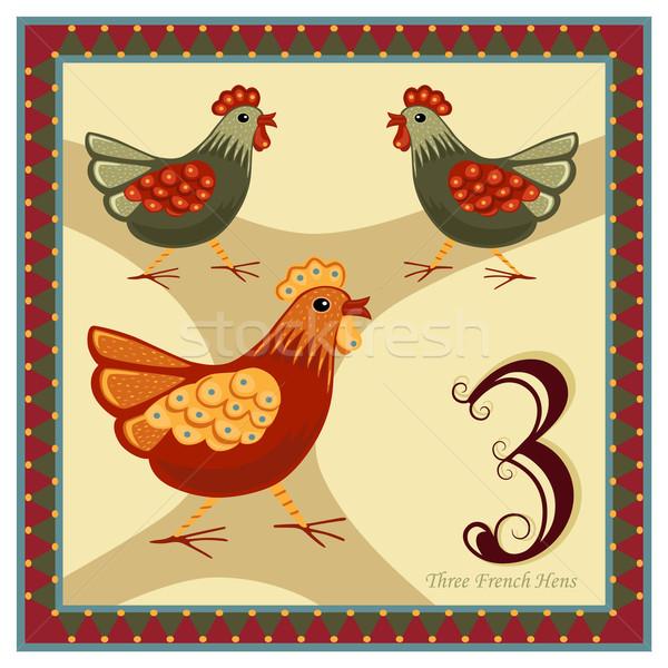 The 12 Days of Christmas Stock photo © Eireann