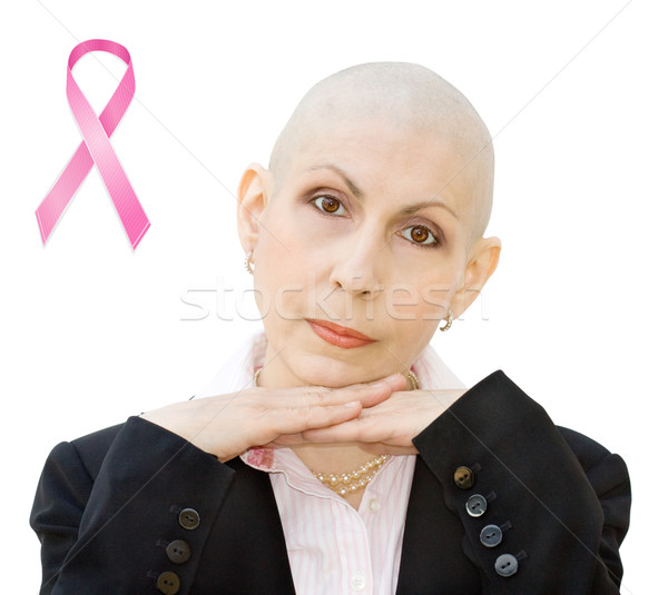 Breast cancer awareness Stock photo © Eireann