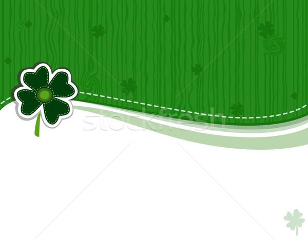 Saint Patrick Day Greeting Card Stock photo © Eireann