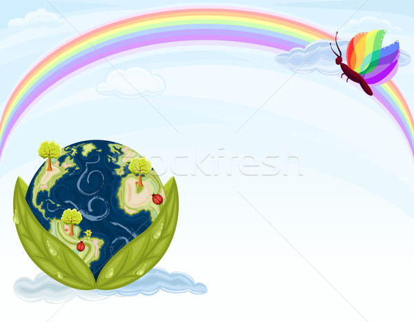 Green Earth - Ecology Stock photo © Eireann