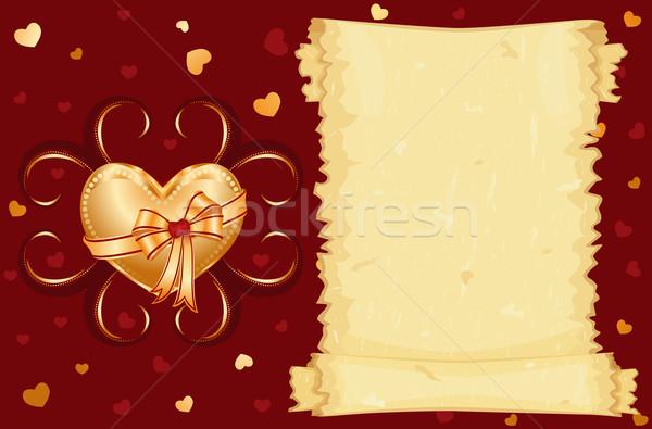 I love you card Stock photo © Eireann