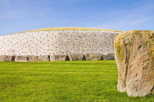 Irlanda unesco mundo herança passagem túmulo Foto stock © Eireann