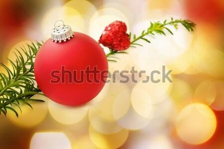 クリスマス 愛 魔法 ライト 装飾 お祝い ストックフォト © Eireann