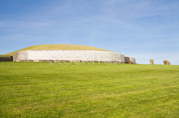 UNESCO World Heritage - Newgrange in Ireland Stock photo © Eireann