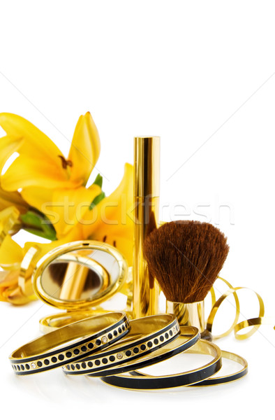 Luxo make-up jóias especial dia Foto stock © Eireann