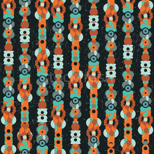Seltsame Textur Vektor abstrakten Hintergrund Stock foto © ekapanova