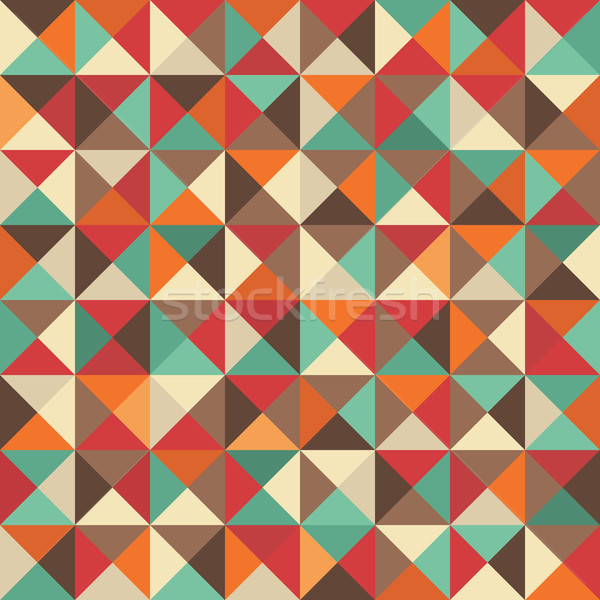 Retro pattern. Stock photo © ekapanova