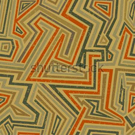 Retro pattern. Stock photo © ekapanova
