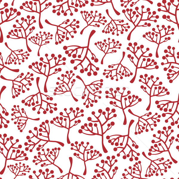бесшовный текстуры вектора природы дизайна завода Сток-фото © ekapanova