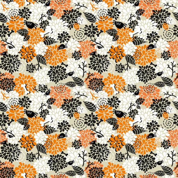 Seamless pattern for halloween. Stock photo © ekapanova