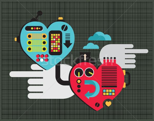 Mechanic love. Stock photo © ekapanova