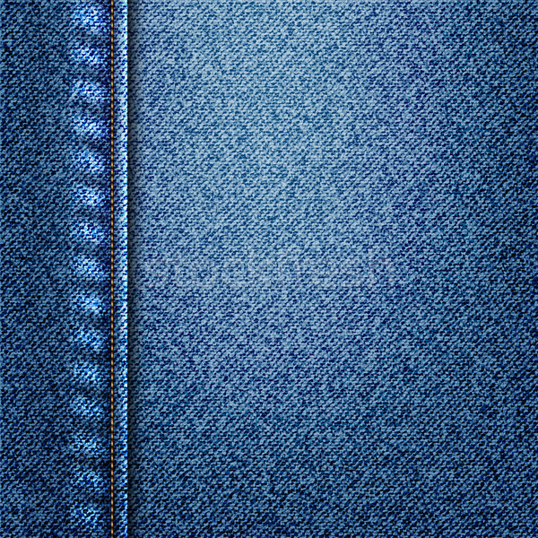 Denim Blauw textuur achtergrond materiaal vector Stockfoto © elaine