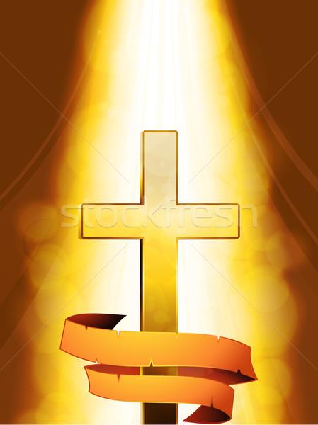 мистик крест баннер нижний Сток-фото © elaine