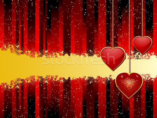 valentine heart pendant Stock photo © elaine