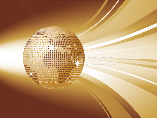 world globe disco ball Stock photo © elaine