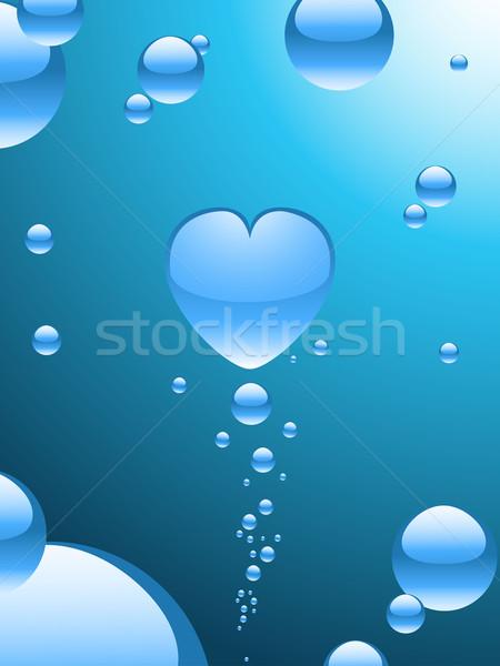 аннотация сердце пузыря центр Сток-фото © elaine