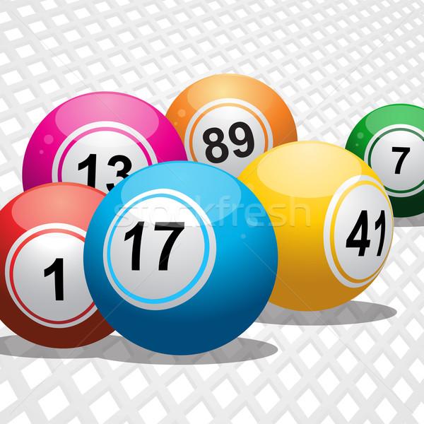Bingo witte 3D Stockfoto © elaine