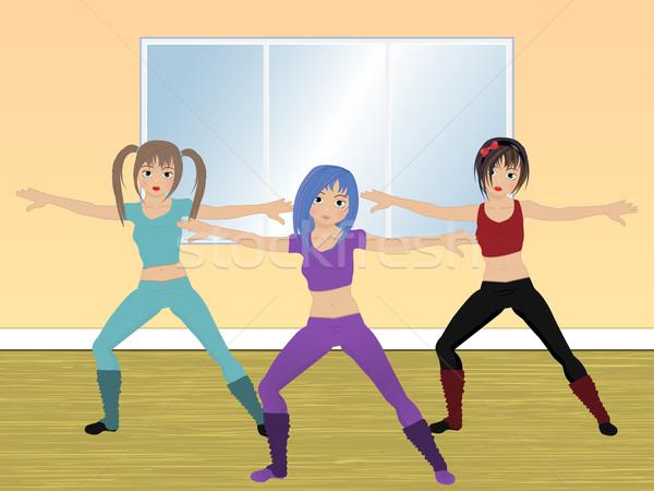 aerobics class Stock photo © elaine