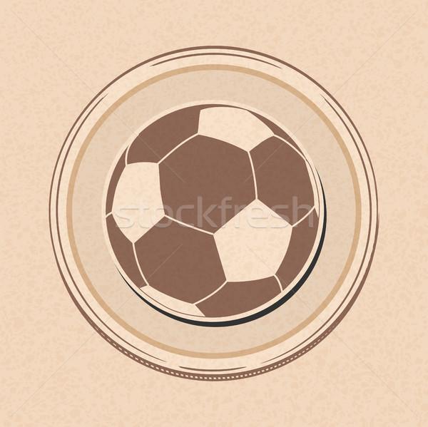 サッカー サッカーボール 図面 スタイル ストックフォト © elaine
