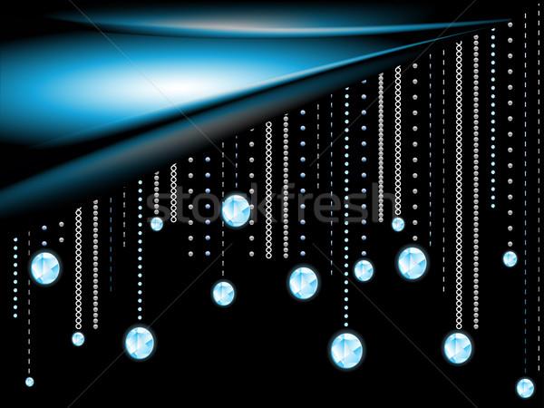 Glowing diamonds:  Stock photo © elaine