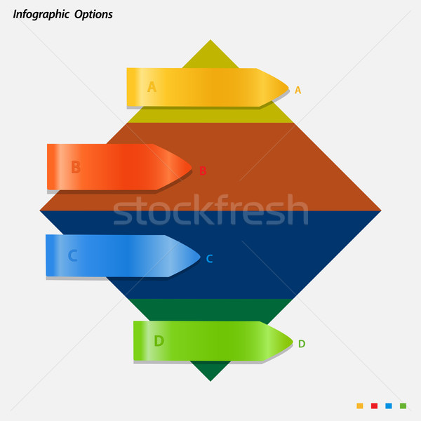 Panneau multicolore fond Photo stock © elaine