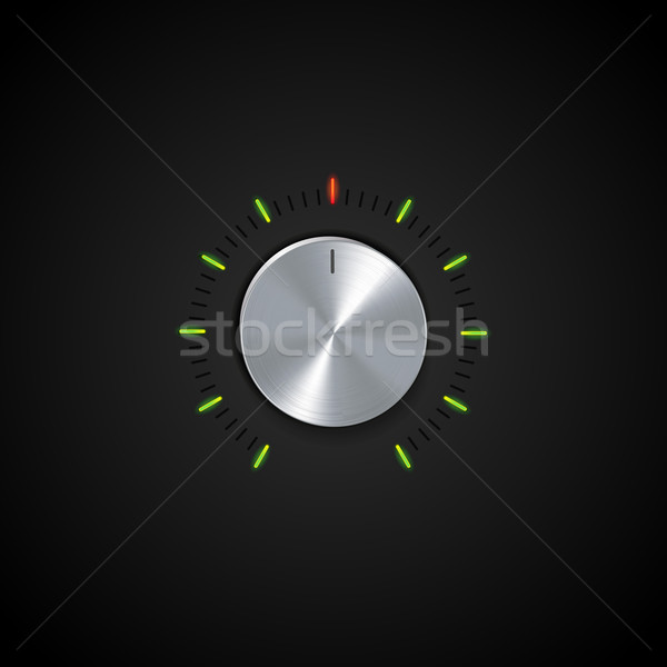 dial and glowing indicator Stock photo © elaine