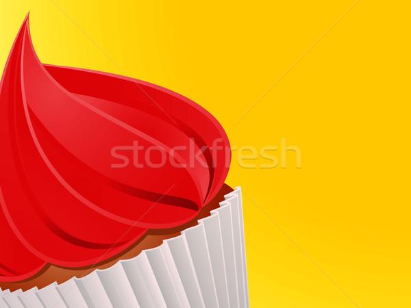 Amarelo vermelho branco Foto stock © elaine