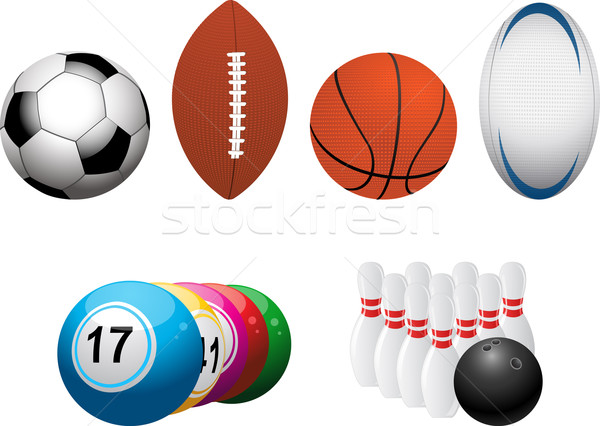 sports and leisure elements Stock photo © elaine