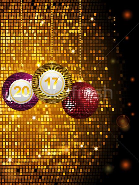 Disco or tuiles boule disco Photo stock © elaine