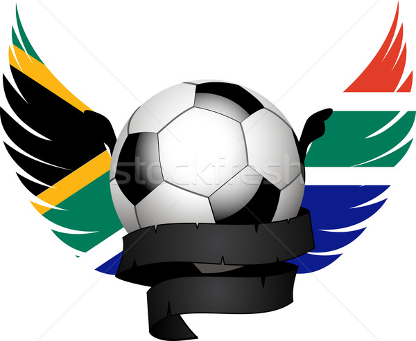 South African football crest Stock photo © elaine