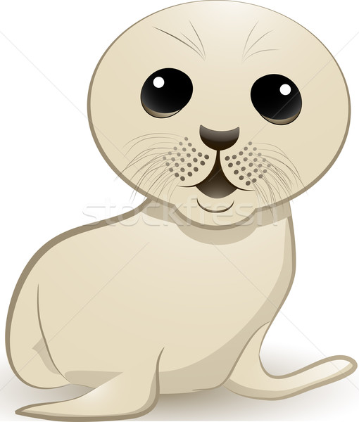 seal cub Stock photo © elaine