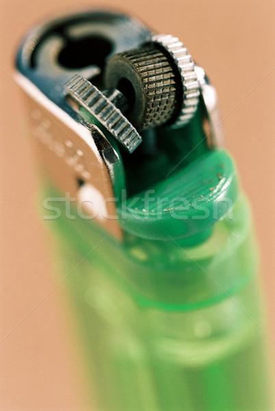 Malfunctioning Green Used Lighter Stock photo © eldadcarin