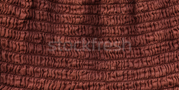 Katoen weefsel textuur bruin hoog Stockfoto © eldadcarin