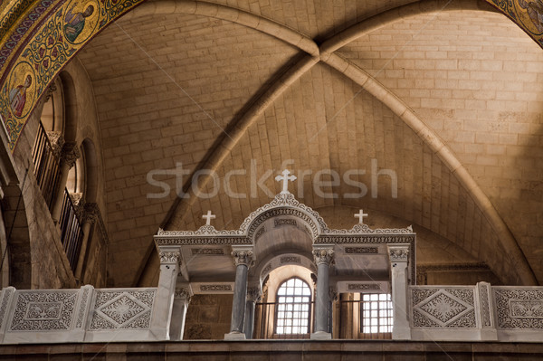 Detail of 'Church of the Holy Sepulchre' Stock photo © eldadcarin