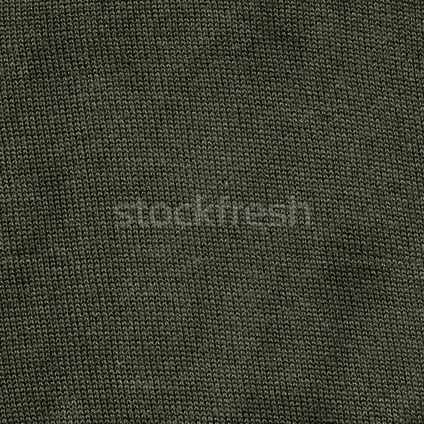 Cotton Fabric Texture - Khaki Stock photo © eldadcarin