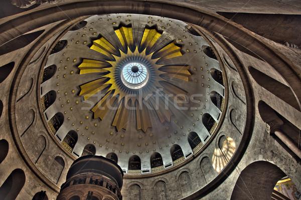Sepulchre Rotunda Stock photo © eldadcarin