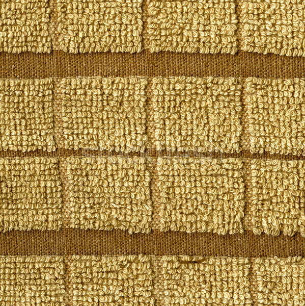 Towel Cloth Texture - Beige Double Striped Stock photo © eldadcarin