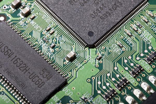 Elettronica bordo esterno elettronica computer Foto d'archivio © eldadcarin